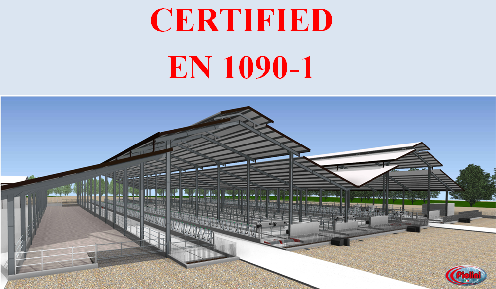 FIOLINI srl has been making prefab metal structures and equipment for livestock among the best on the market